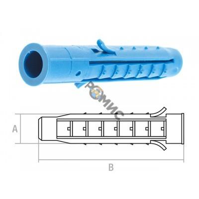 Дюбель 12х 70мм распорный 4х-сегм. (уп.200 шт) STARFIX (SM-48355-200) Россия