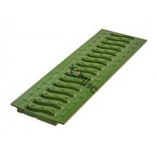 Решетка 100 пластиковая Волна (зеленый папоротник), РБ (Пластиковая решетка STANDART Волна имеет дли