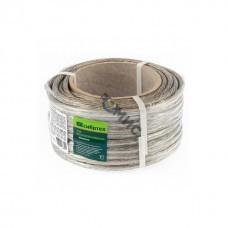 Трос  металлополимерный прозрачн. ф.5,0 мм (кат. 50м) Сибртех, Россия