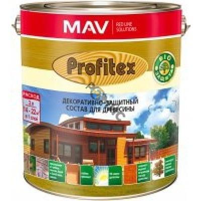 Состав PROFITEX декоративно-защитный для древесины Слива 3л (2,2кг) РБ