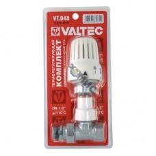 Клапан с термостатической головкой VALTEC, для рад. прямой 1/2