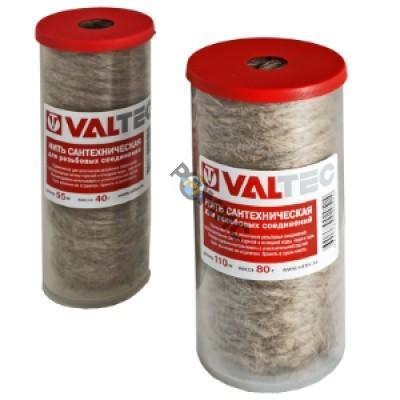 Нить сантехническая льняная VALTEC, для резьбовых соединений (110м), (VT.FLAX.0.110), Россия