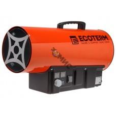 Нагреватель воздуха газ. Ecoterm GHD-30T прям., 30 кВт, термостат, переносной (30кВт, 650 м3/ч)