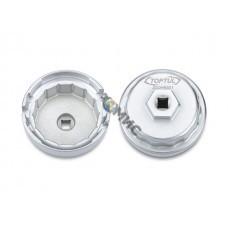 Съемник-чашка масляных фильтров 64,5мм 14гр. TOPTUL (JDDH6501)