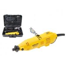 Гравер электрический MOLOT MMG 3215 E в чем. + аксессуары (150 Вт, 8000 - 32500 об/мин, цанга 3 мм)