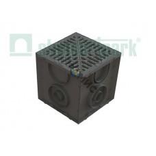 Дождеприемник S'park (Дождеприемник пластиковый 250х250 (черный) ДП-25.25-ПП.) (Стандартпарк)