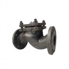 Клапан обратный 16ч6п DN 40 PN16 фл. до 225гр.подъем. Китай