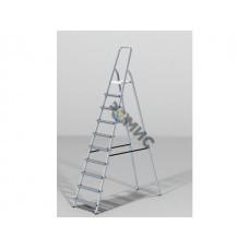 Лестница-стремянка алюм. 213 см 10 ступ. 6,5кг PRO STARTUL (ST9940-10)