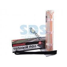 Теплый пол (нагревательный МАТ) REXANT Extra, площадь 2,0 м2 (0,5 х 4,0 метров), 320Вт, (двух жильны