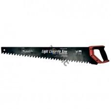 Ножовка по пенобетону, 700 мм, защитное покрытие, твердосплавные напайки на зубья, двухкомп. рукоятка MATRIX (23382) Китай