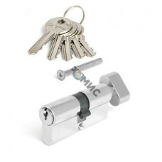 Цилиндровый механизм 70мм (35х35, ключ-вертушка) Vanger EL-70-C-NI никель 4603869054878, Китай