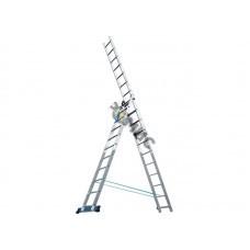 Лестница алюм. 3-х секц. 3х10 ст. (283/454/619см) SKALA  01310, РБ