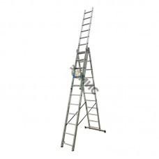 Лестница алюм. 3-х секц. 3х11 ст. (311/510/703см) SKALA  01311, РБ