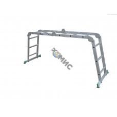 Лестница шарнирная TARKO 03404 (4ст.*4секц, 121/235/470см), РБ