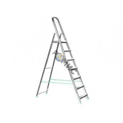 Лестница-стремянка алюм. 7 ступ. 143 см. TARKO 04107, РБ