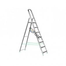 Лестница-стремянка алюм. 8 ступ. 164 см. TARKO 04108, РБ