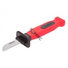 Нож монтажника нержавеющая сталь лезвие 50 мм Rexant