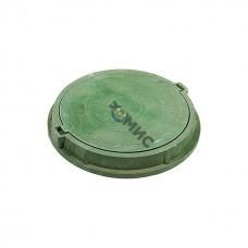 Люк полимерный легкий (760х90) 30кН (зеленый) Россия