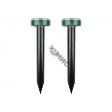 Набор ультразвуковых отпугивателей кротов на солнечной батарее (R20)  REXANT