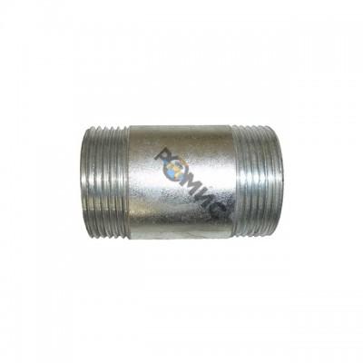 Бочонок оцинк. Ду-15 L=55мм КАЗ из труб по ГОСТ3262-75 Россия