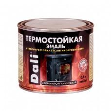 Эмаль термостойкая (серебрянка) 0,4л (+600°С) кремний-органич.