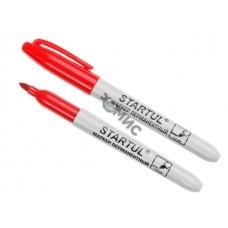 Маркер промышл. перманентный фетровый красный STARTUL PROFI (ST4350-03) (толщ. линии 1.5 мм)