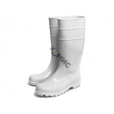 Сапоги ПВХ специальные, белые, Nordman КЩС ПС 9-1 Б р.44 (для пищевой промышленности, К80 Щ50,  высо
