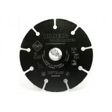 Круг алмаз. отрезной 125х1.0x22.2 мм для дерева Super Wood HILBERG (Не боится гвоздей)