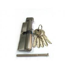Евроцилиндр с вертушкой DORMA CBF-1 90 (55x35В) никель (английский ключ)