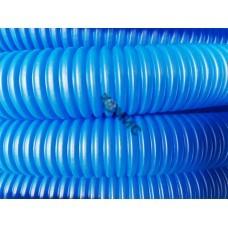 Трубка защитная гофрированная 25мм бухта 50м синяя (для 18-20 трубы) (Пешель для 18-20 трубы) (AV En