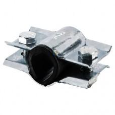 Хомут ремонтный сталь оц Ду80 L=103мм 2/сторонний ККАЗ Россия