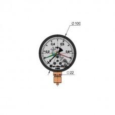 Манометр ЭКМ 100Вм 400кПа-1,5 исп.5 РБ