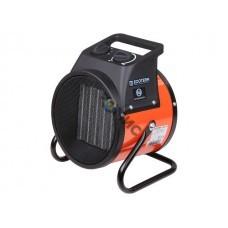 Нагреватель воздуха электр. Ecoterm EHR-03/1D (пушка, 3 кВт, 220 В, термостат, керамика PTC) Китай