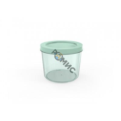 Контейнер Cake, 0,75 л, мята полупрозрачный, BEROSSI (Изделие из пластмассы. Литраж 0,75 л)