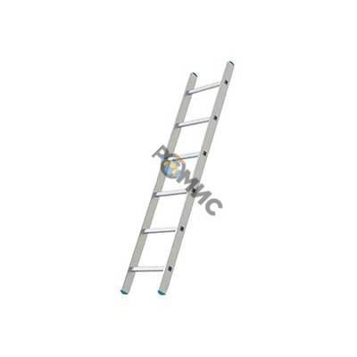 Лестница алюм. 1 -секц. 170см  6 ступ.(шир. 340мм) SKALA  01106, РБ