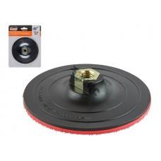 Шлифтарелка с липучкой 125мм М14 GEPARD (GP0831-125) (для УШМ)