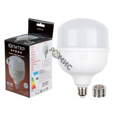 Лампа светодиодная промышл. T140 45 Вт 170-240В E27/E40 6400К ЮПИТЕР (400 Вт аналог лампы накал., 40
