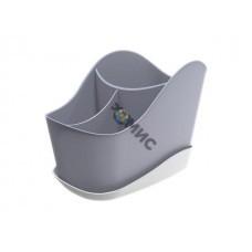 Сушилка для столовых приборов Krita, сиреневый туман, BEROSSI (Изделие из пластмассы. Размер 203х126