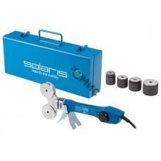 Сварочный аппарат для полимерных труб Solaris PW-804 (800 Вт, 4 насадки: 16, 20, 25, 32 мм)