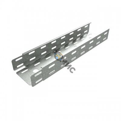 Лоток листовой перфорированный 100х50 L3000 (дл.3м) 0,7мм Стандарт КМ LO0201, РФ