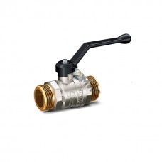 Кран шаровой лат.DN 15 (РР) РN4.0 МПа LD Pride 47.15.Н-Н.Р (вода), РФ