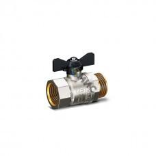 Кран шаровой лат.DN 20 (МР) РN4.0 МПа LD Pride 47.20.В-Н.Б (вода),р/бабочка, РФ