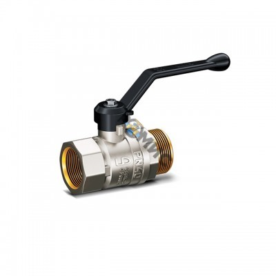 Кран шаровой лат.DN 20 (МР) РN4.0 МПа LD Pride 47.20.В-Н.Р (вода), РФ