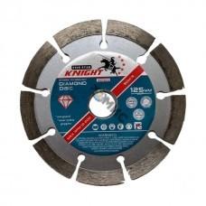 Алмазный круг 125х22,23 бетон, кирпич/трот.плитка KNIGHT ( выс.сегм.10, толщ.2,2) Китай