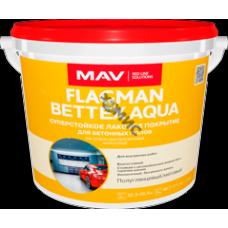 Лак FLAGMAN BETTEX AQUA суперстойкое покрытие бесцветный п/гл 1л (0,9кг) РБ для бетон
