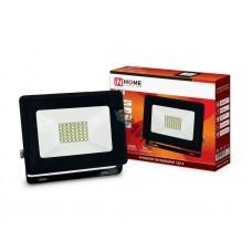 Прожектор светодиодный СДО-8 30Вт 230В 6500К 2850лм IP65 IN HOME 4690612030036, РФ