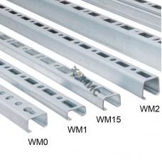 BIS RapidRail Профиль WM0 (pg) 27 х 18 х 1,2 х 2000мм