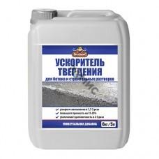Ускоритель твердения OPTILUX для бетона и строительных растворов 1,0л канистра, РФ