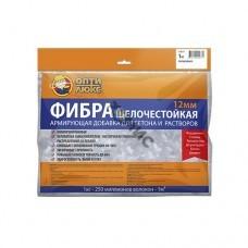 Фибра пропиленовая, щелочестойкая 12мм «OPTILUX», пакет 1,0 кг, РФ