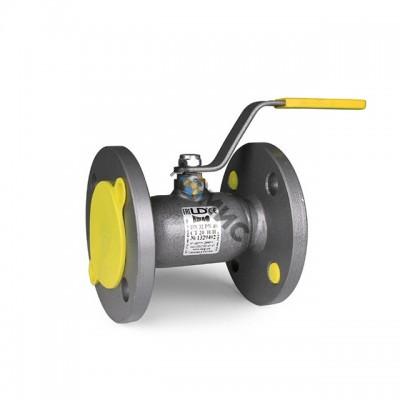 Кран шаровый LD КШЦФ из стали 20 Ду 65/49 Ру 1,6 Мпа-стандартнопроходной, РФ